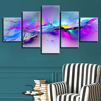 Multi 5d Panel Color Abstract art 5d diy Diamond Painting 5 pcs full square rural Diamond Embroidery Mosaic Cross Stitch Z1015