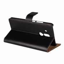 Folio Stand Wallet Genuine Leather Mobile Phone Case For Huawei Mate 10 Pro,Mate 10 Lite,Nova 2i,Honor 9i,Maimang 6,Honor 7X