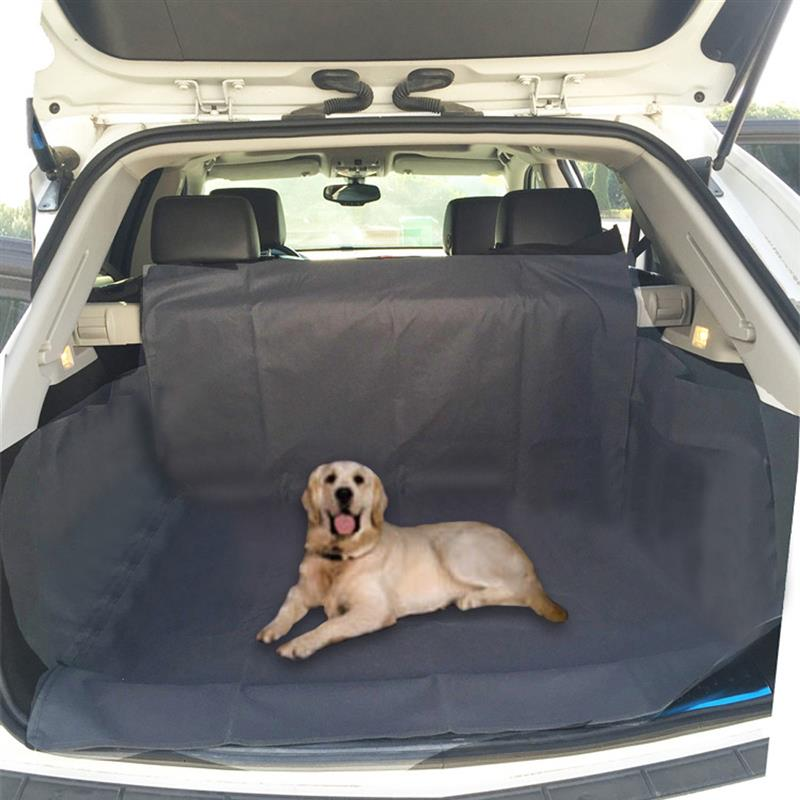 Pet Dog Mat Waterproof Oxford Cloth Car Trunk Pet Pad Black 3D Stereo SUV Dog Out of The Car Mat Automobiles Cargo Liner