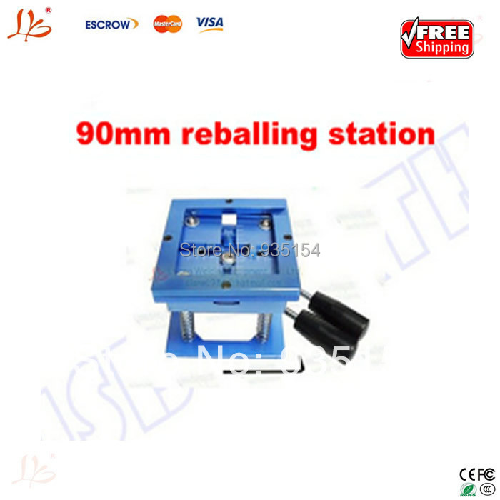 90x90mm bga reballing station,reballing holder for BGA rework station промышленная машина china brand bga 90 x 90 90x90mm reballing station