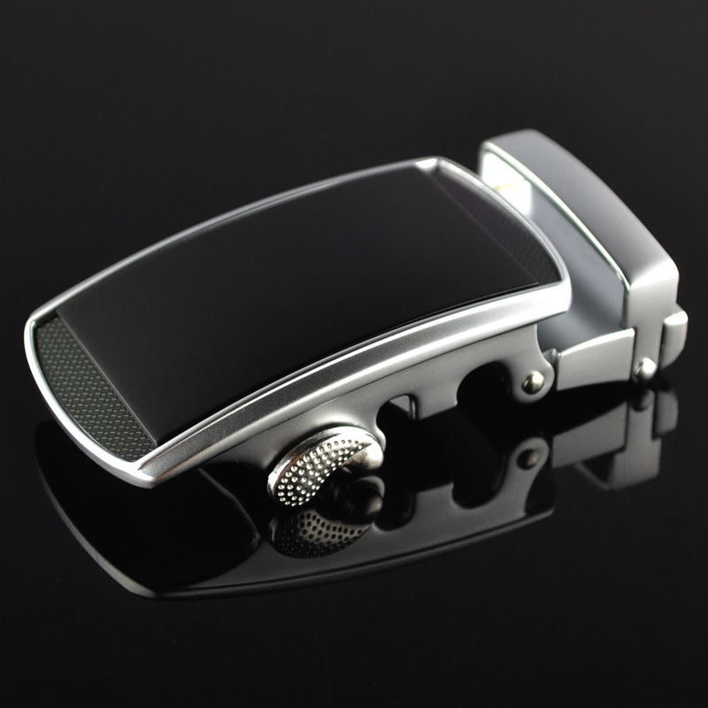 Genuine Men's Belt Head,Belt Buckle,Leisure Belt Head Business Accessories Automatic Buckle Width3.5CM Luxury Fashion LY125-0185