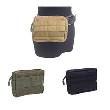 Canvas Sports Bag 600D Nylon ClothTactical Bag Unisex Hand Bags Camouflage Phone Pockets Military Fans Outdoor Accessories
