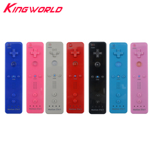 Hight quality 2 in 1 Built in Motion Plus Remote Controller Gamepad for Nintendo Wii Console Game