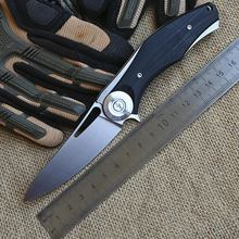 High quality USA Tactical Knife Pocket Folding Knife D2 Blade TC4Titanium Alloy + G10 Handle Camping Hunting Survival Knives K88