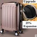 Marca 20 pulgadas 22 24 pulgadas maleta de equipaje enrollable caja de equipaje de viaje fundas giratorias maleta con ruedas