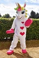 Unicorn Mascot Costume pony mascot costume Rainbow pony fancy dress costume for adult Halloween Purim party