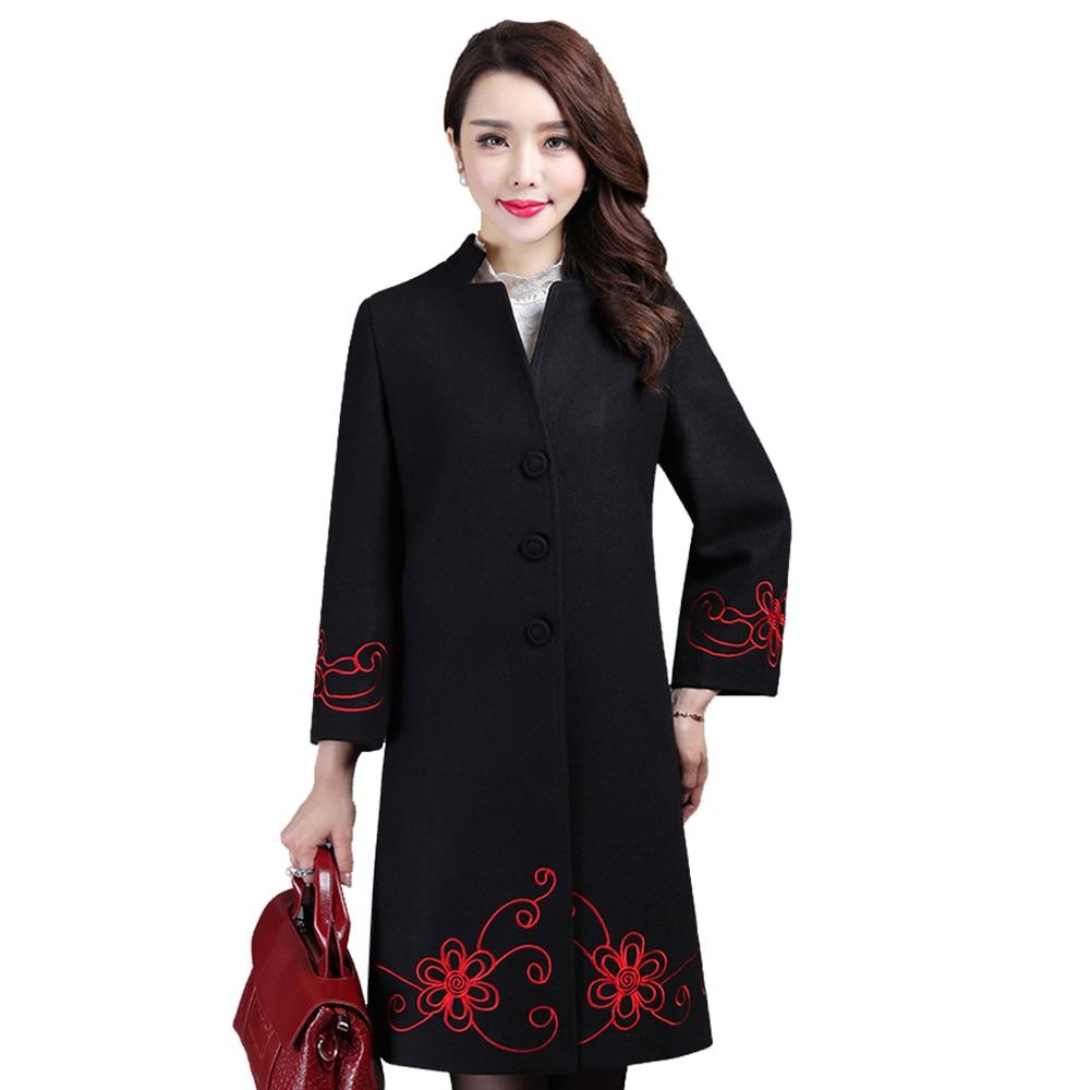 Aliexpress.com : Buy Oversized Long Wool Coat Overcoat Women ...