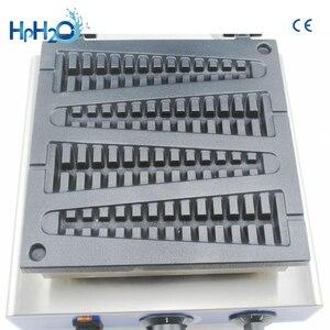 Image 4 - 商業ce電気 110v 220v個キャンディーワッフルメーカーマシンワッフルスティックパンワッフル鉄ケーキオーブン