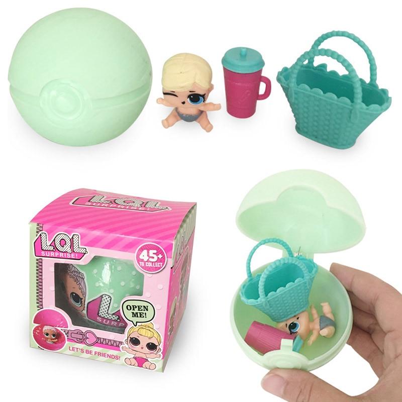 Kids Gifts LOL Surprise Eggs for Baby Toys Boneca Surpresa LOL Surprise Dolls action figure surprise dolls noneca surpresa funny toys kids gifts lol surprise doll