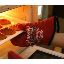 2 шт перчатка для духовки Жаростойкие рукавица и прихват для микроволновой печи противоскользящие термостойкие кухонные рукавицы для выпечки