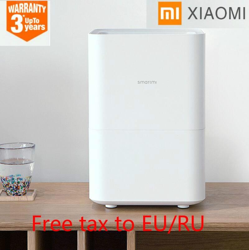 2018 Original Smartmi Xiaomi humidificador evaporativo de 2 para su aire amortiguador difusor de Aroma de aceite esencial mijia Control de APP