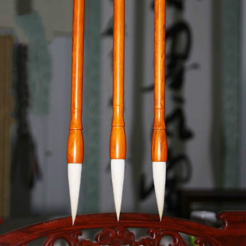 Excellent Quality Chinese Calligraphy Brushes woolen writing brush Writing brush Large Middle Small Regular Script Writing BrushExcellent Quality Chinese Calligraphy Brushes woolen writing brush Writing brush Large Middle Small Regular Script Writing Brush
