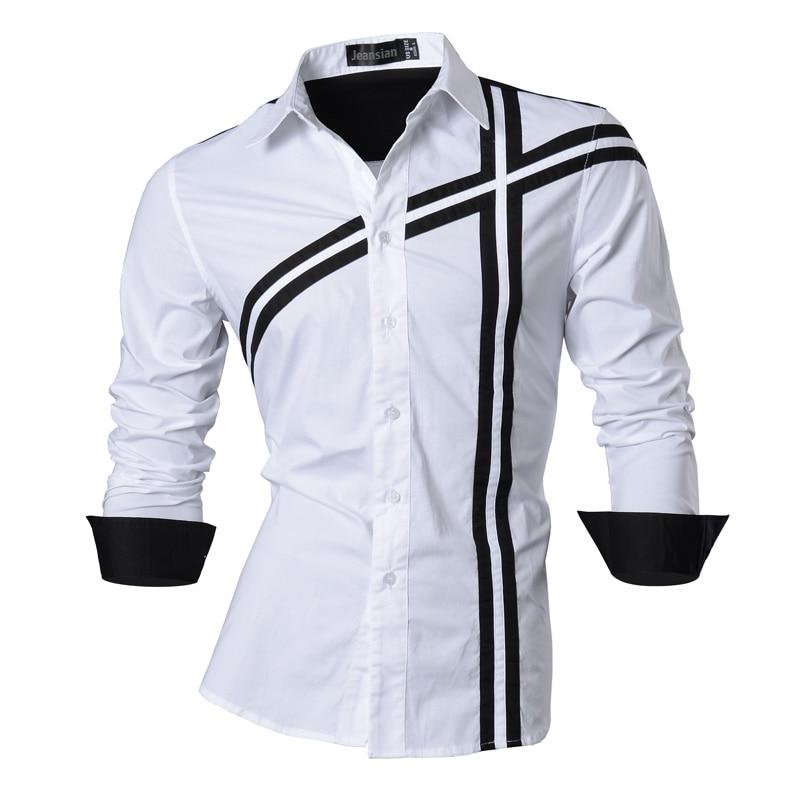 2019 Primavera Otoño Características Camisas Hombres Camisa Casual - Ropa de hombre - foto 4
