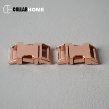 20pcs strong plated metal release buckle 5/8 Inch(15mm) DIY dog cat collar paracord outdoor camping pet supplies accessories