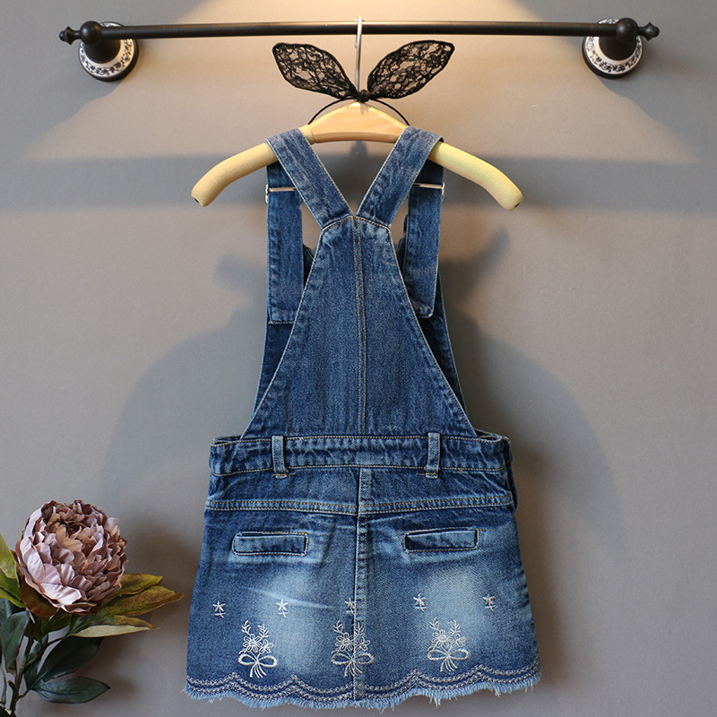 Kid Girls Denim Skirts Baby Toddle Jeans Child Suspender Children Girl Overall Pinafore In From Mother Kids