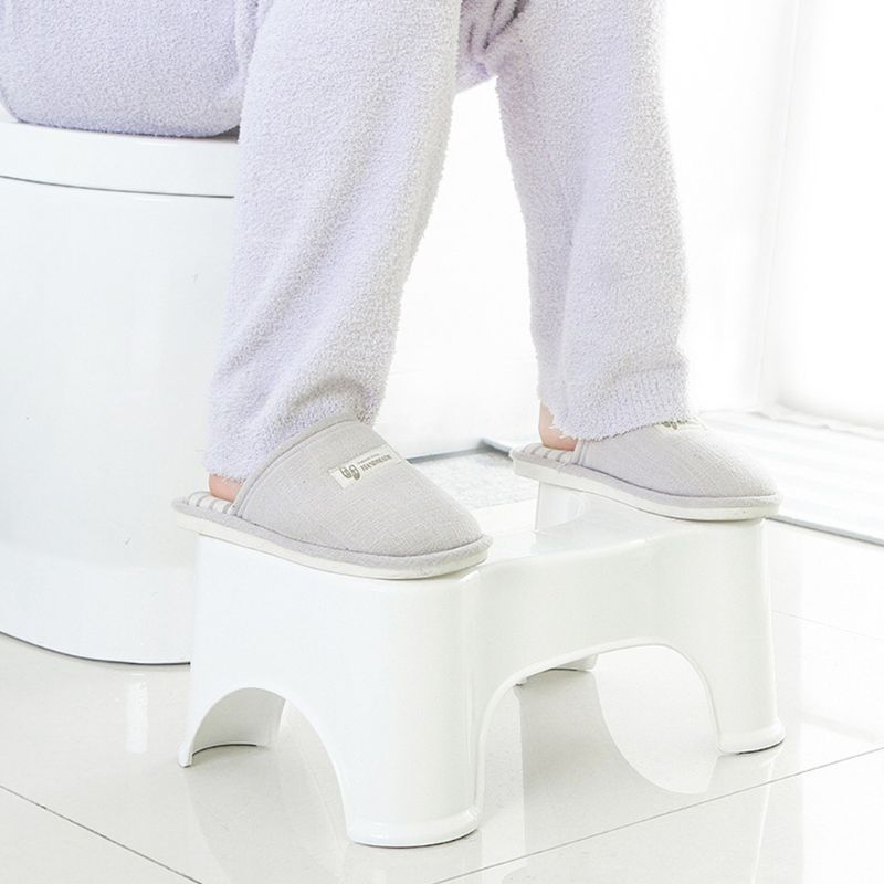 Image 5 - 39x22.5x17cm U Shaped Squatting Toilet Stool Non Slip Pad Bathroom Helper Assistant Footseat Relieves Constipation Piles new-in Toilet Seat Lifters from Home & Garden