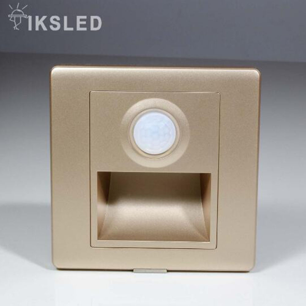 Lighting Basement Washroom Stairs: PIR Motion Detector+ Light Sensor Led Stair Light Led