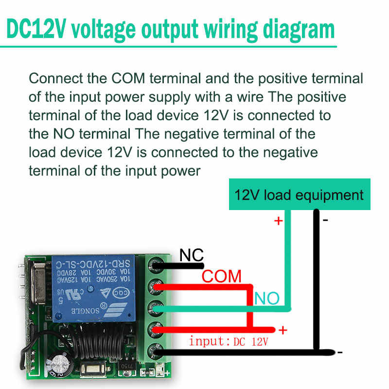 Detail Feedback Questions about 4pcs/set DC12V Remote Relay Module on relay coil, relay connections, relay switch, relay computer, relay lights, relay parts,