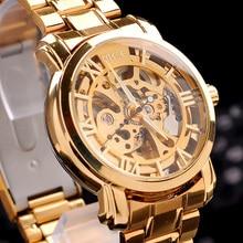Wrist watch Brand MCE unisex golden Steel Luxury font b men s b font watch VOGUE