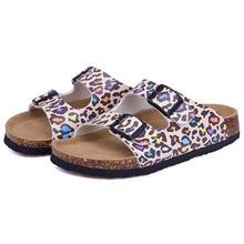 CoolFar  2017 classic beach shoes, best unisex woman sandals can be wear on the beach, flower print  cork womens summer shoes