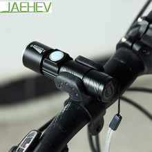 Lámpara de Luces de la bicicleta Mini USB Recargable Ciclismo LED Linterna Con Soporte Titular De La Luz Delantera de la Bici de Advertencia de Seguridad