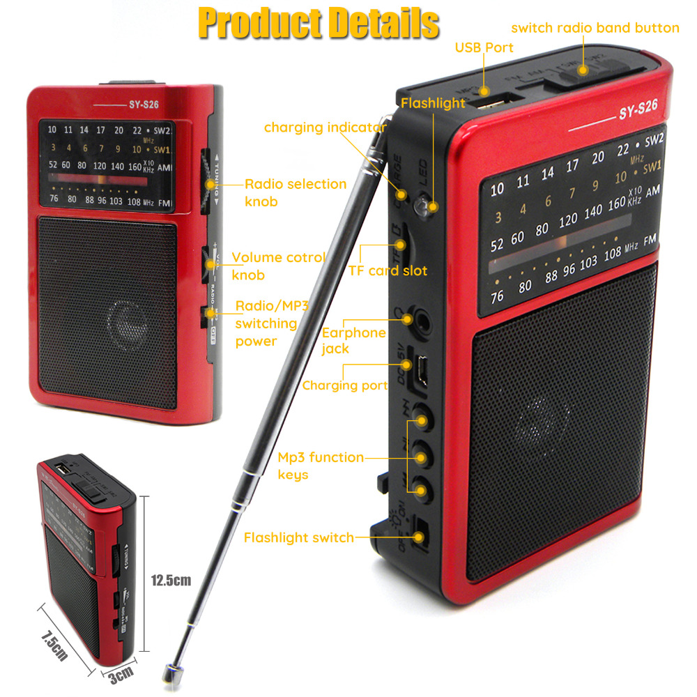 E2821 radio red (6)