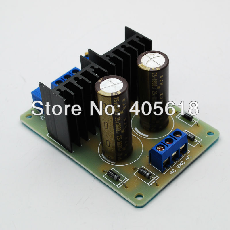 Free Shipping! Top Assembled LM317 337 dual power adjustable power supply board lm317 lm317l lm317lz to 92