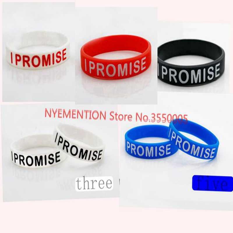 2P bracelets en silicone bracelets en caoutchouc solide