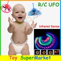 Flying UFO Hovering Saucer Sensor RC Remote Control Toys Mini RC Helicopter Quadcopter Radio Floating Balls Sensing Toys