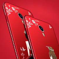 For Meizu M3 Note Case Meilan M3 Note Note 3 3D Relief Cartoon Slim Cases Back