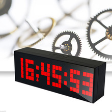 Big Jumbo Digital LED Walll Clock Large Display Wall Decoration Clock, Multifunction Table Calendar Despertador