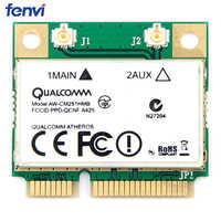 Sans fil-AC double bande pour Qualcomm Atheros QCA9377 AW-CM251HMB Mini PCI-E Wifi carte 433Mbps BT4.1 802.11ac meilleur Intel 3160
