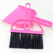 Mini Dustpan and Broom Set Cage Cleaner Small Animals Cleaning Tool Set for Animal Waste 8in1 nm cage cleaner cleansing and deodorizing agent for small animal cells spray 710 ml 5057846