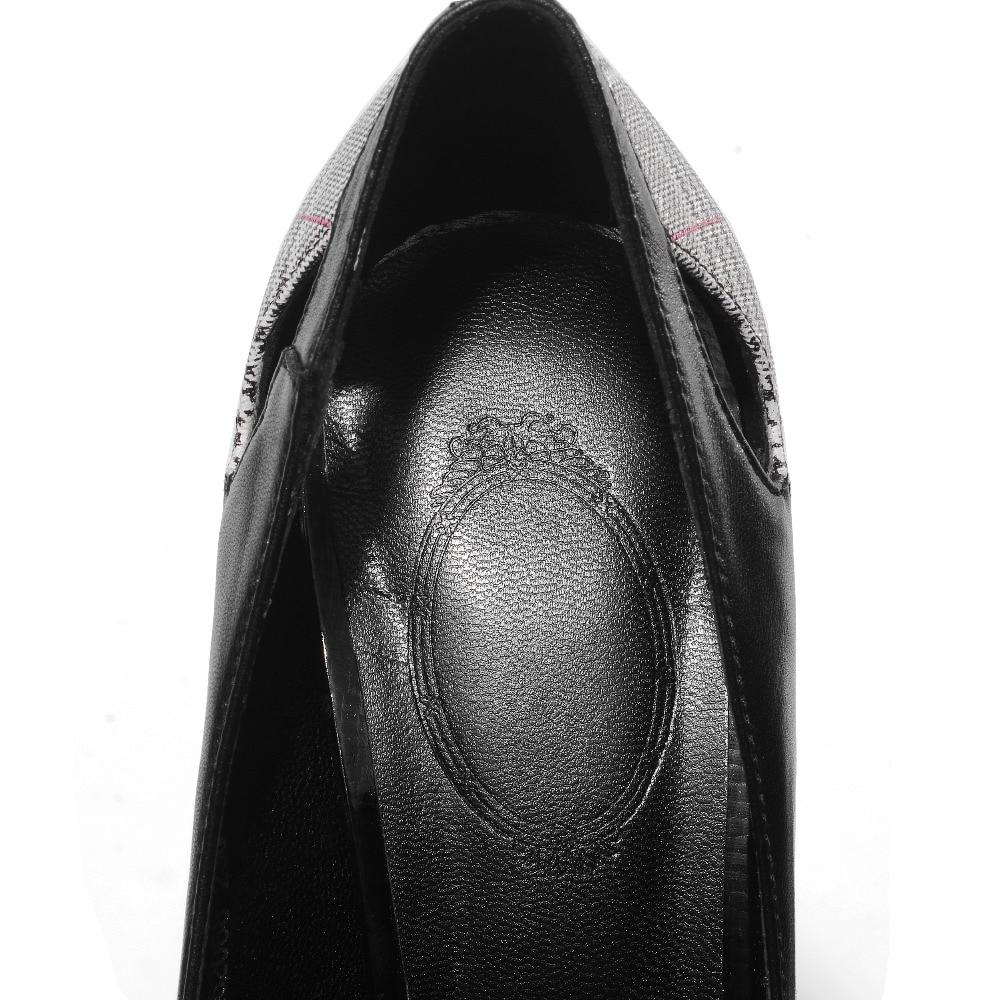 Punta Ufficio Signore Black Scarpe In Mano beige Hollow I E Delle Di America Donne Pompe Partita Europa Cuoio A Modo punta Per Carriera Tutti Stitchi Square 7Zr7zfwq