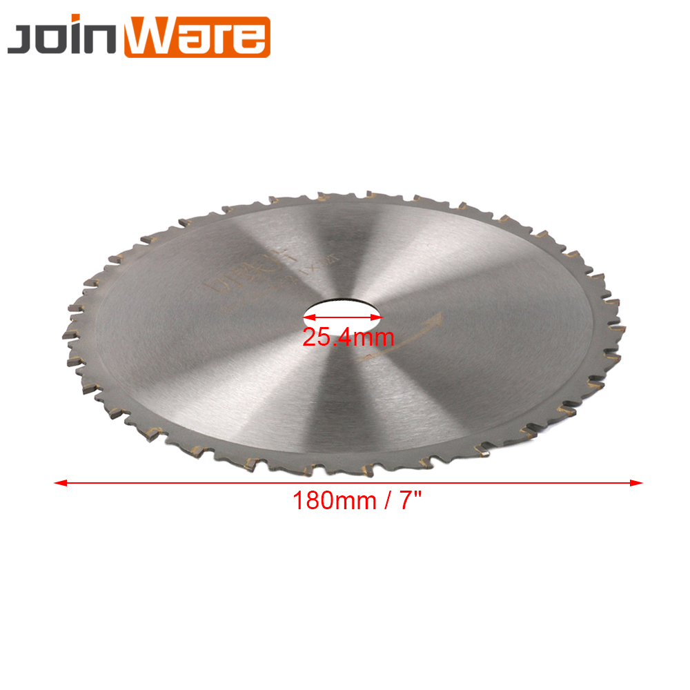 "Image 2 - 7"" Circular Saw Blade Cutting Disc For Cutting Iron Made Products 180x25.4x2.1x32T High QualitySaw Blades   -"