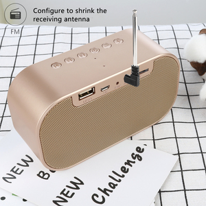 Image 4 - TOPROAD Tragbare Bluetooth Lautsprecher Unterstützung Temperatur LCD Display FM Radio Wecker Drahtlose Stereo Subwoofer Musik Player