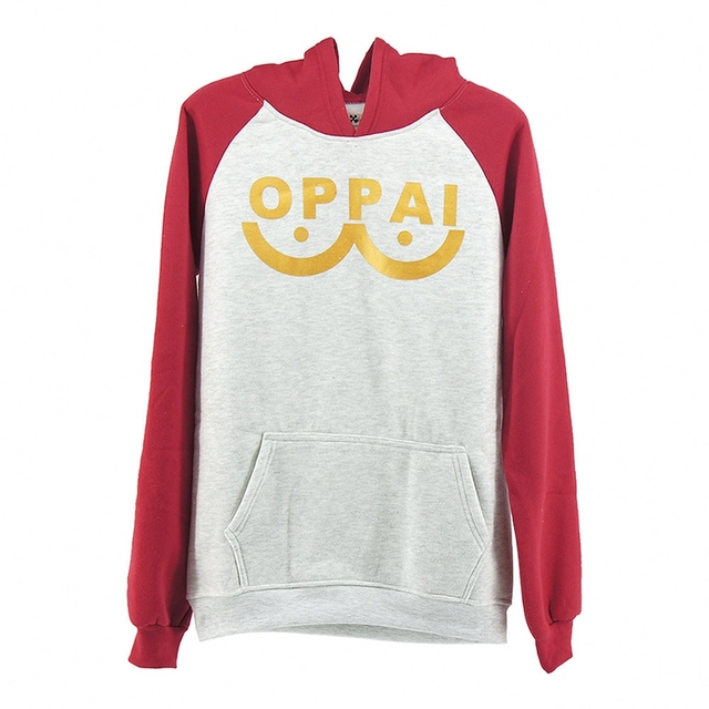 COtton blended One Punch man Saitama Oppai hoodie Hooded Sweatshirt Fleece Unisex for man and woman size Jacket Cosplay Costume 1