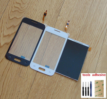 For Samsung Galaxy Trend Lite 2 G318 SM-G318H Touch Screen Digitizer Sensor + LCD Display Screen + Adhesive + Kits цена