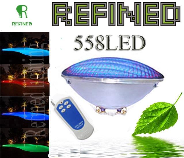 Rapture Led Par56 Pool Light 40w 12v Rgb Ip68 558led Led Swimming Pool Light Outdoor Lighting Floodlight Supernova Sale Ce Rohs Led Bulbs & Tubes