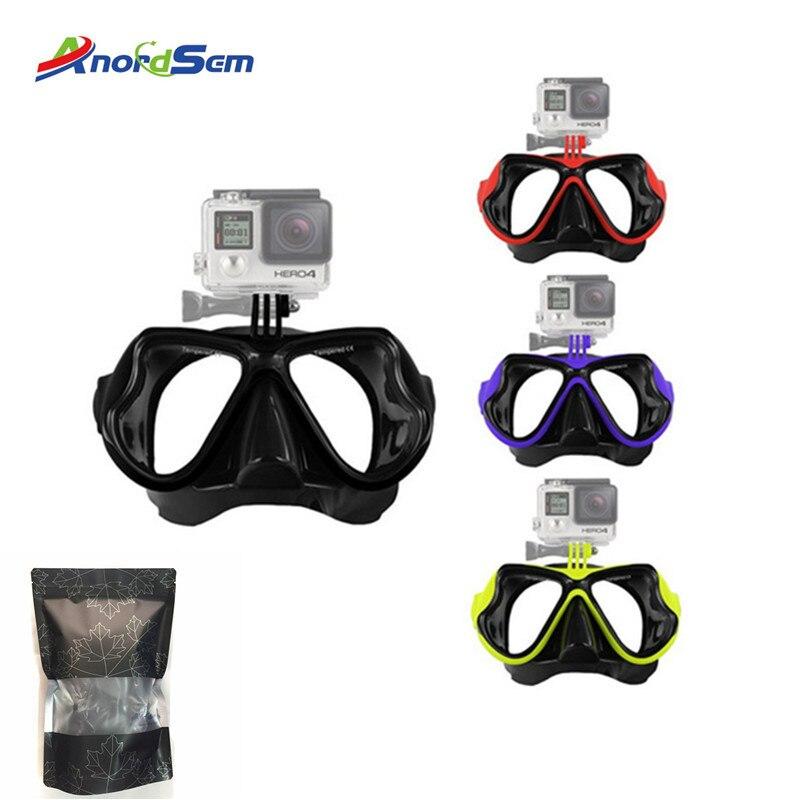Scuba Diving Snorkelling Mask Glasses Storage Case Box Protective Bag Pouch Container Organizer for Gopro//YI//SJCAM//SJ4000 Diving Masks Glasses Tbest Diving Mask Case Black