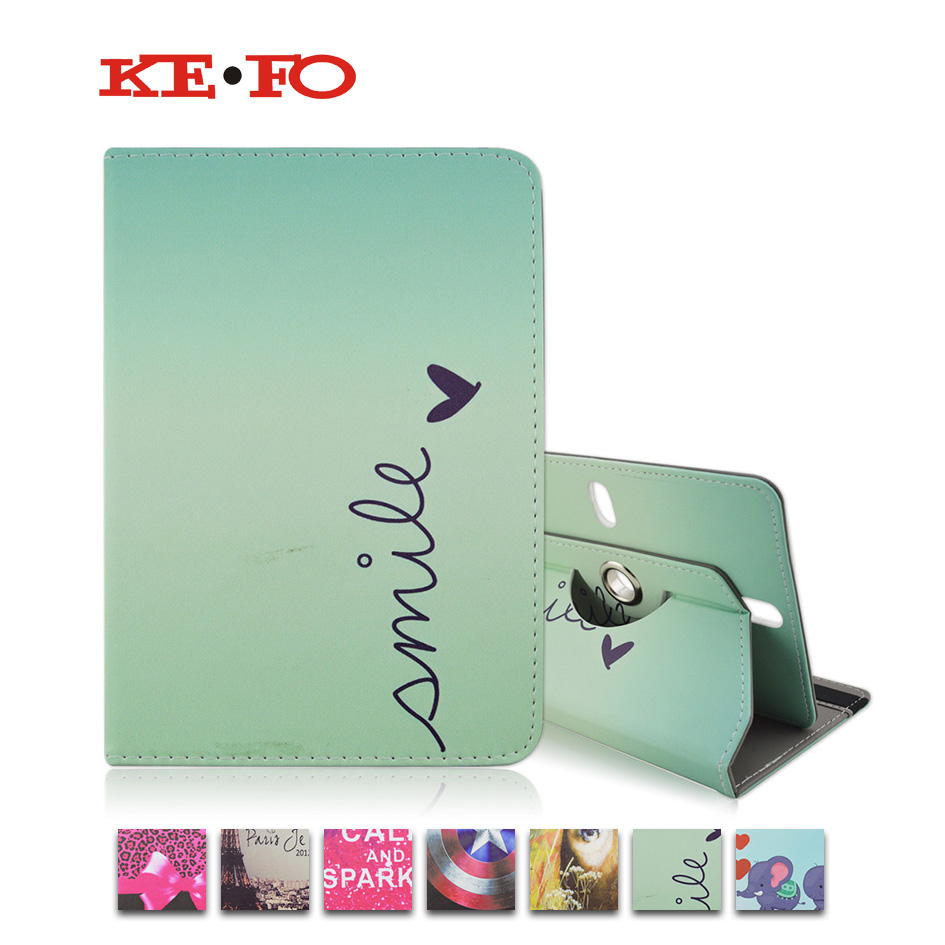 Universal 7 inch Tablet 360 Rotating PU Leather Cover Case For VIEWSONIC VIEWPAD 7 / 7E / 7X / 70D / 70Q / 70N Pro