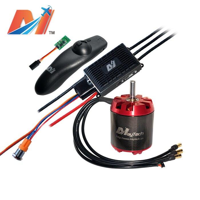 Maytech offroad electric skateboard kit 6374 brushless outrunner 170KV motor 2.4ghz controller