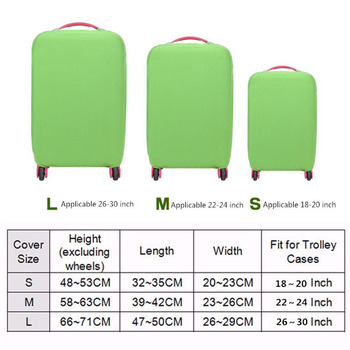 Travel Luggage Cover Trolley Protective case Suitcase Dust cover for 18″ to 30″ Luggage Baggage Bag covers Travel Accessories