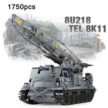 Military Series The 8U218 TEL 8K11 Tank vehicle Set Building Blocks Bricks Kids Toys Gift compatible legoeinglys Army Tanks