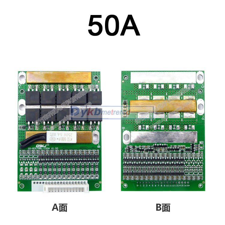 Image 5 - DYKB 6S  13S 35A 50A 80A w/Balance BMS LiFePO4 Li ion lithium battery protection 24V 36V 48V 7S 8S 10S 12S electrical tool upsBattery Accessories   -