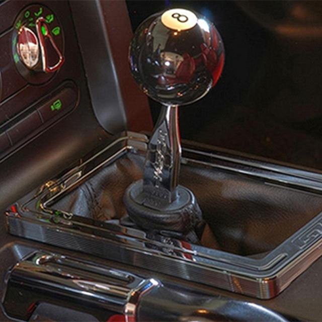 High Quality 8 eight Pool Billiard Ball custom Gear Shifter Shift Knob Car  Lever black MAY-15