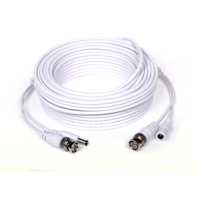 BNC and 5.5mm DC power cable for CCTV surveillance systems  CCTV Video Power BNC Security Camera Cable