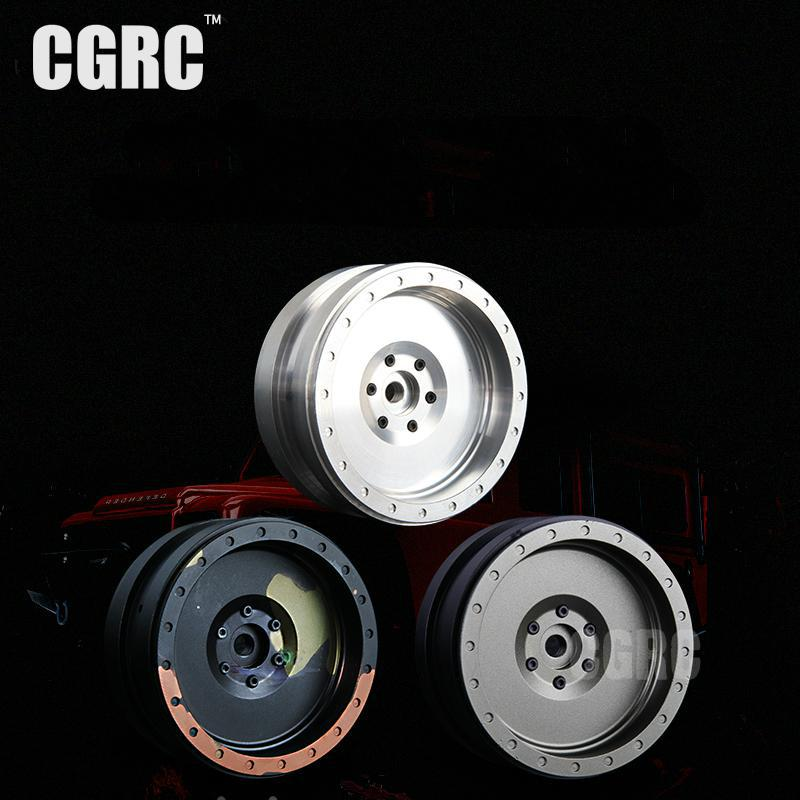 4Pcs/Set 1:10 RC Crawler Metal Alloy 2.2 Inch Wheel For 1/10 Axial SCX10 TAMIYA CC01 RC4WD D90 D110 Trx4 90046 90047 1 9 metal alloy wheel hubs 1 9 inch beadlock wheel rims for 1 10 rc crawler scx10 90022 90027 90046 90047 cc01 trx4 tf2