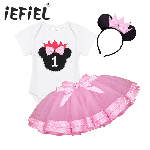 c17d9a7aa914 iEFiEL Infant Baby Girls Toddler Outfit Short Sleeves Glittery ...