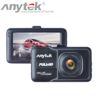 New Arrival Anytek A98 Car DVR Camera Recorder Novatek Dash Cam Full HD 1080P 3 0